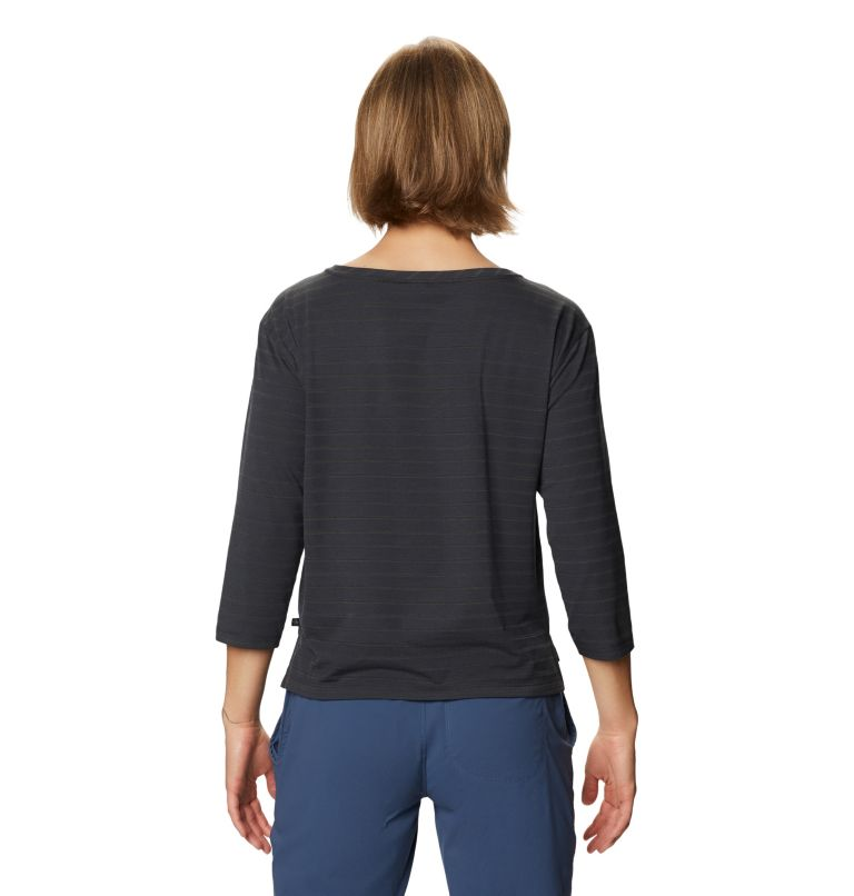 Everyday Perfect™ 3/4 T | 004 | XL Women's Everyday Perfect™ 3/4 T-Shirt, Dark Storm, back