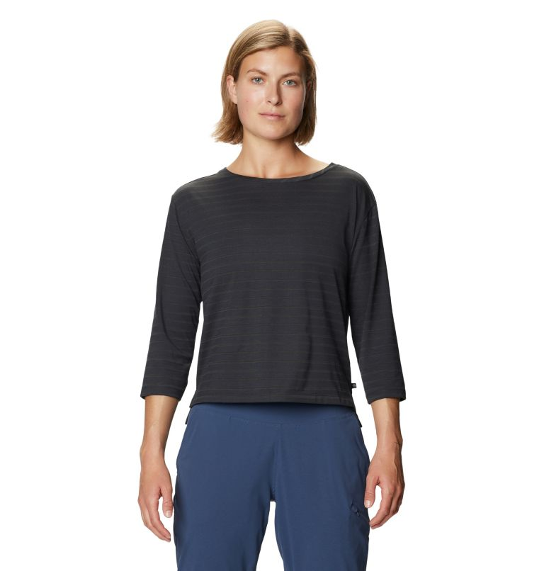 Everyday Perfect™ 3/4 T | 004 | XL Women's Everyday Perfect™ 3/4 T-Shirt, Dark Storm, front