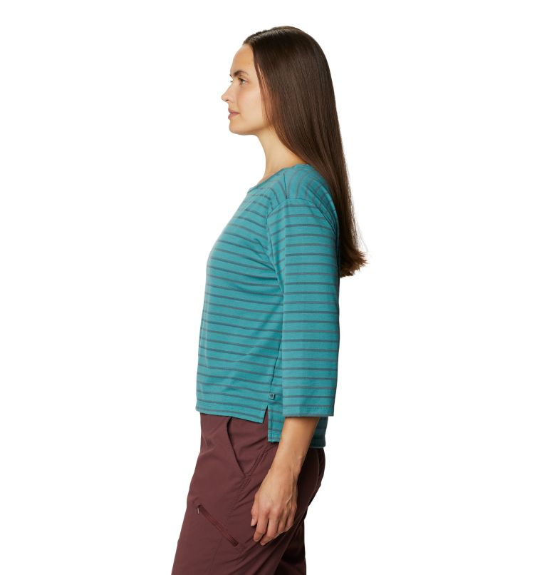 Everyday Perfect™ 3/4 T | 447 | XS Women's Everyday Perfect™ 3/4 T-Shirt, Washed Turq, a1