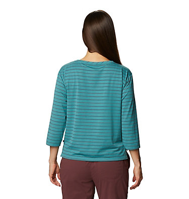 Women's Everyday Perfect™ 3/4 T-Shirt Everyday Perfect™ 3/4 T | 004 | L, Washed Turq, back