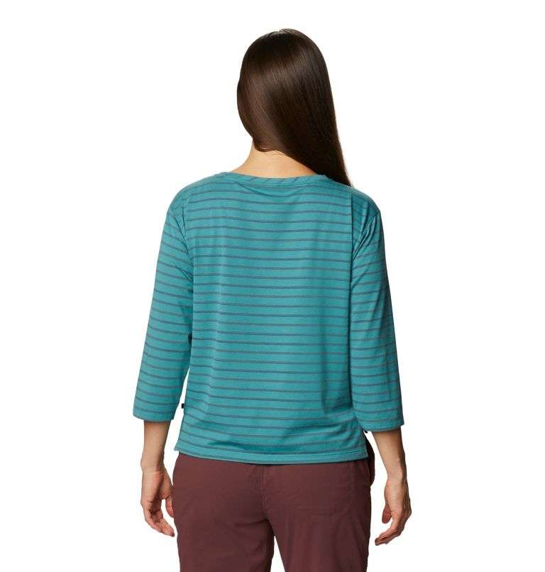 Everyday Perfect™ 3/4 T | 447 | M Women's Everyday Perfect™ 3/4 T-Shirt, Washed Turq, back