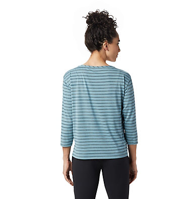Women's Everyday Perfect™ 3/4 T-Shirt Everyday Perfect™ 3/4 T | 004 | L, Peak Blue, back
