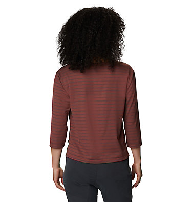 Women's Everyday Perfect™ 3/4 T-Shirt Everyday Perfect™ 3/4 T | 004 | L, Clay Earth, back