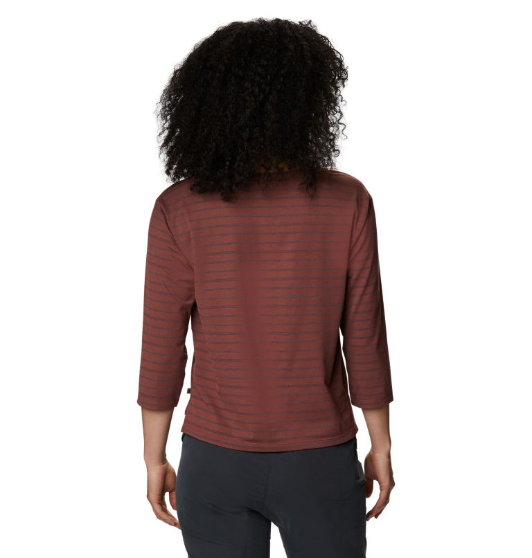 Everyday Perfect™ 3/4 T | 643 | L Women's Everyday Perfect™ 3/4 T-Shirt, Clay Earth, back