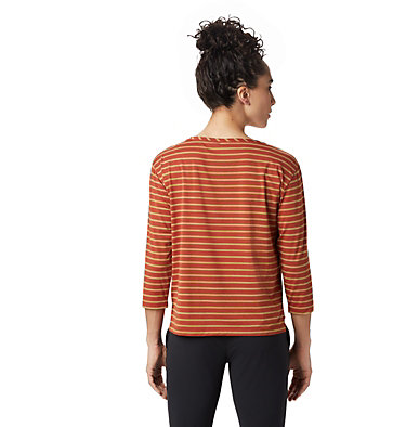 Women's Everyday Perfect™ 3/4 T-Shirt Everyday Perfect™ 3/4 T | 004 | L, Rusted, back