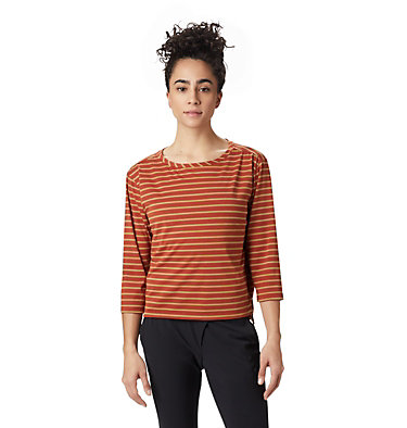 Women's Everyday Perfect™ 3/4 T-Shirt Everyday Perfect™ 3/4 T | 004 | L, Rusted, front