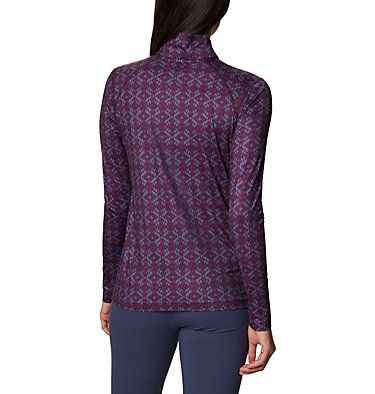 Women's Ordesa™ Half Zip Shirt Ordesa™EXS Half Zip | 562 | S, Purple Dahlia Navajo, back