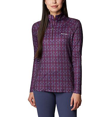 Women's Ordesa™ Half Zip Shirt Ordesa™EXS Half Zip | 562 | S, Purple Dahlia Navajo, front
