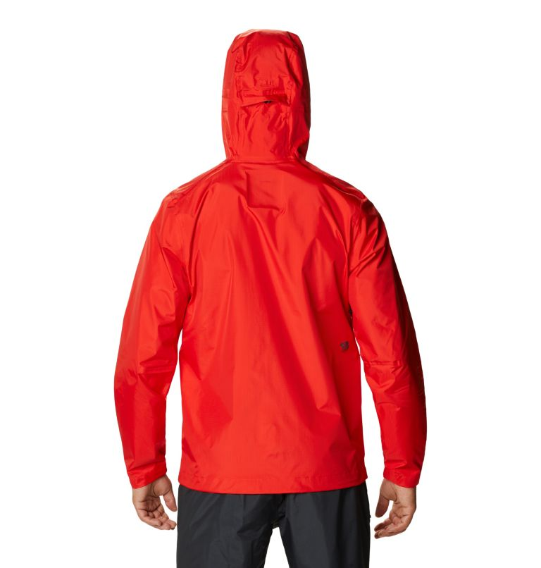 Acadia™ Jacket | 636 | L Men's Acadia™ Jacket, Fiery Red, back