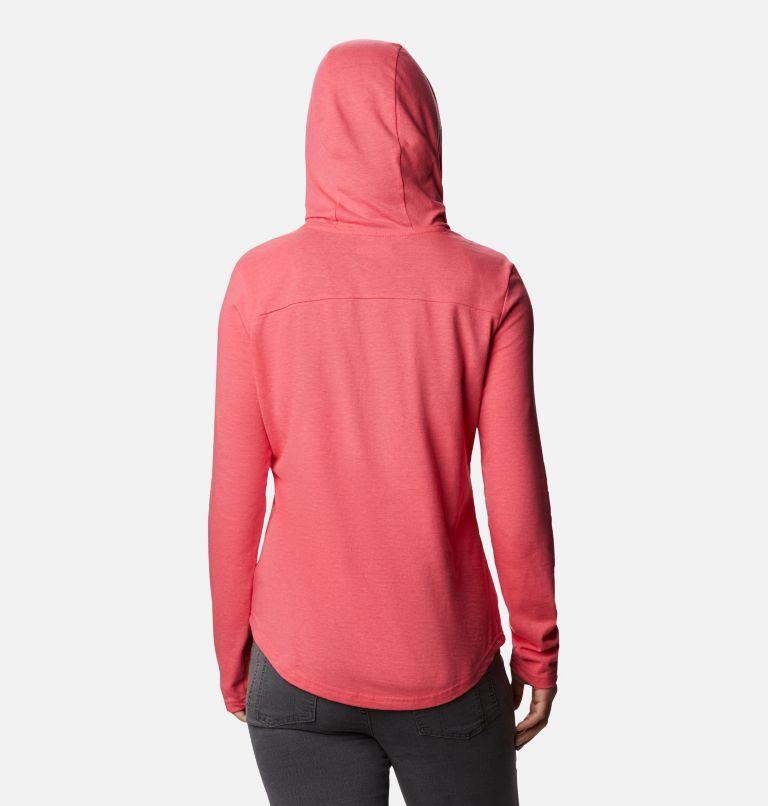 Solar Shield™ Hoodie | 673 | XXL Women's Solar Shield™ Hoodie, Bright Geranium, back