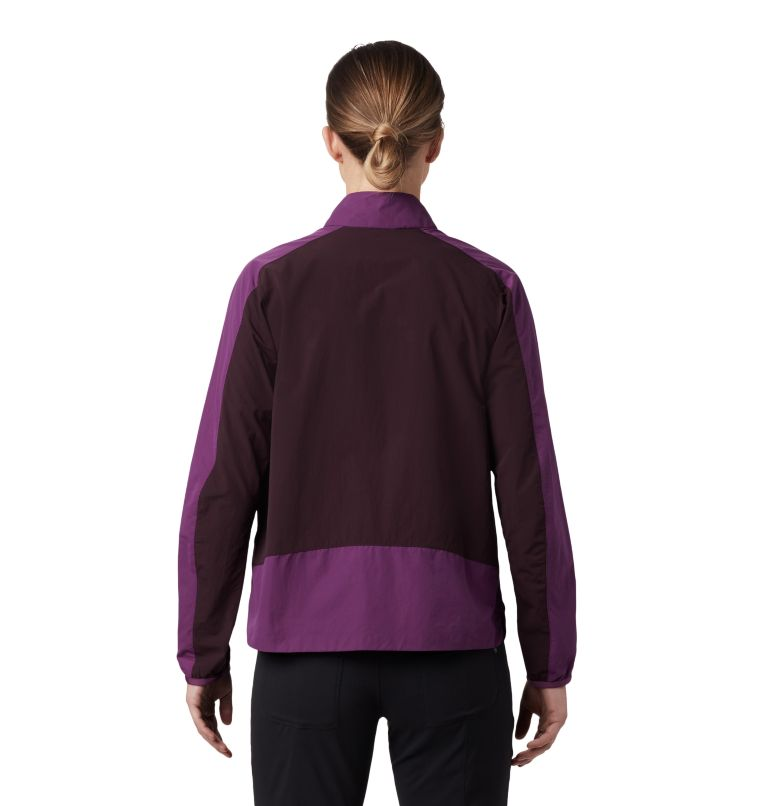 Railay™ Pullover | 502 | S Women's Railay™ Pullover, Cosmos Purple, back