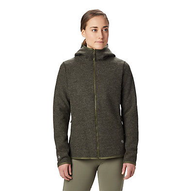 Women's Hatcher™ Full Zip Hoody Hatcher™ Full Zip Hoody | 304 | L, Dark Army, front