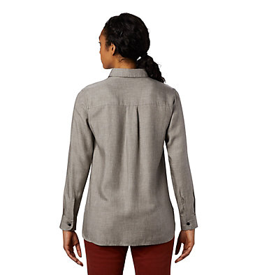 Women's Willow Spring™ Long Sleeve Shirt Willow Spring™ Long Sleeve Shi | 073 | L, Manta Grey, back