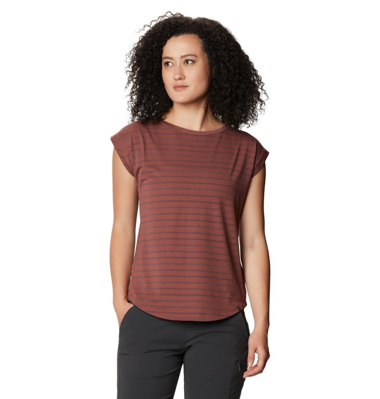 Everyday Perfect™ Short Sleeve T | 643 | L Women's Everyday Perfect™ Short Sleeve T-Shirt, Clay Earth, front