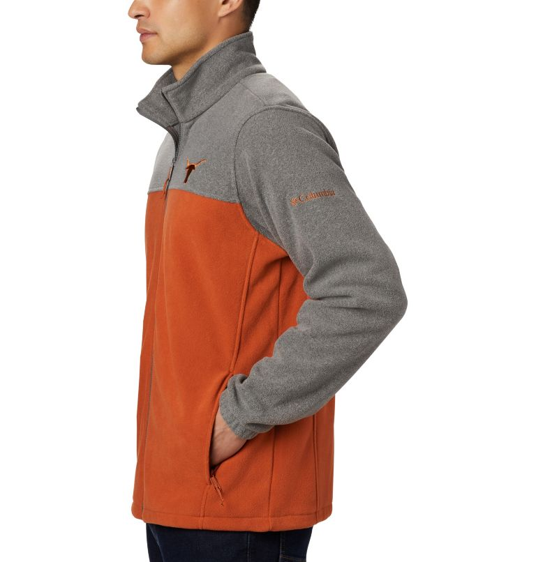 Men's Flanker™ III Full Zip Fleece Jacket - Texas Men's Flanker™ III Full Zip Fleece Jacket - Texas, a1