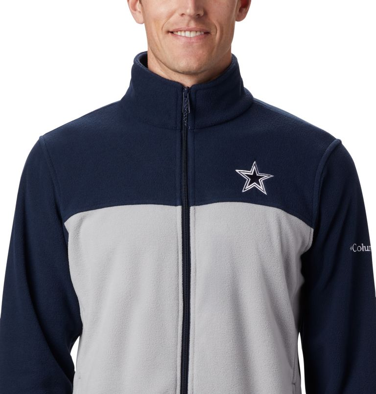 Men's Flanker™ III Full Zip Fleece Jacket - Dallas Cowboys Men's Flanker™ III Full Zip Fleece Jacket - Dallas Cowboys, a1