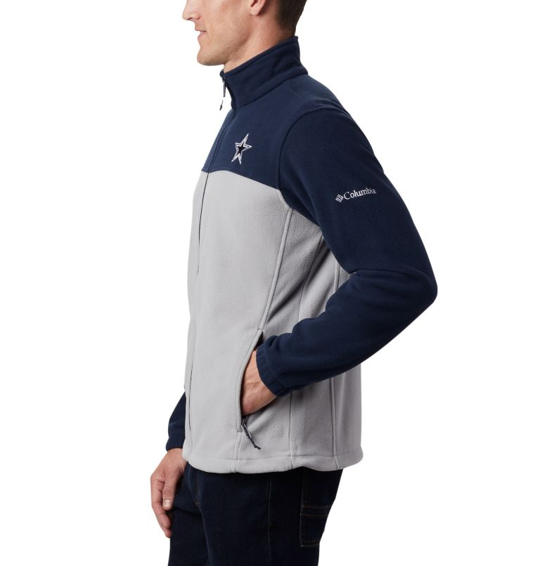 Men's Flanker™ III Full Zip Fleece Jacket - Dallas Cowboys Men's Flanker™ III Full Zip Fleece Jacket - Dallas Cowboys, a2