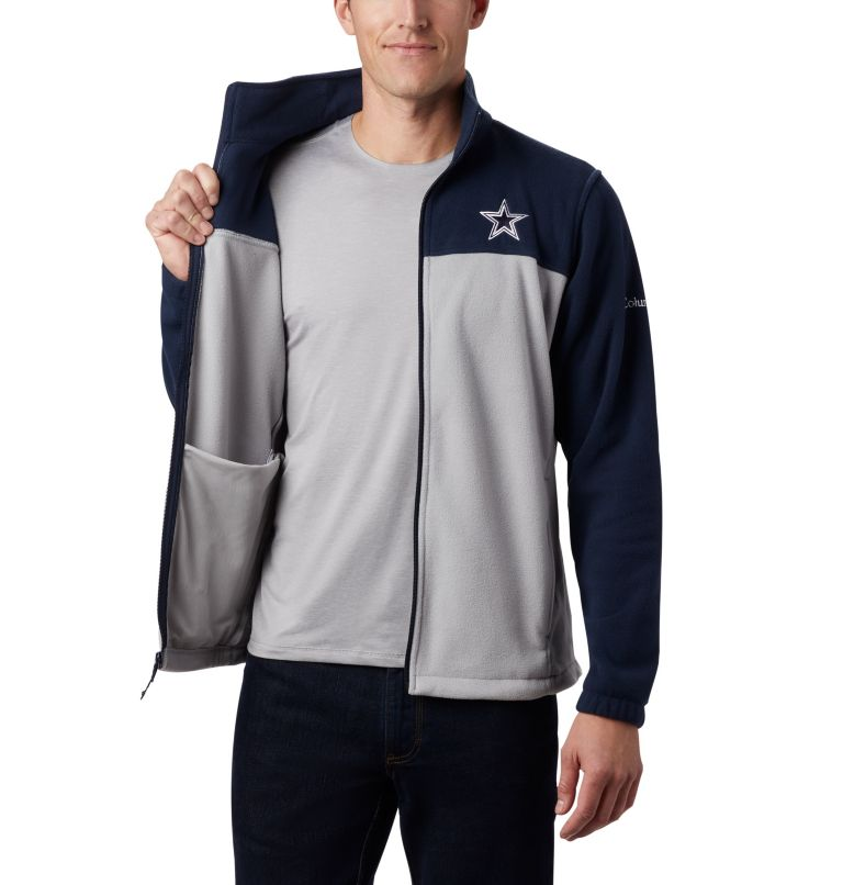 Men's Flanker™ III Full Zip Fleece Jacket - Dallas Cowboys Men's Flanker™ III Full Zip Fleece Jacket - Dallas Cowboys, a3