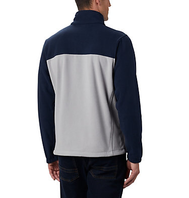 Men's Flanker™ III Full Zip Fleece Jacket - Dallas Cowboys NFL Flanker™ III Full Zip Fleece | 464 | L, DC - Collegiate Navy, Columbia Grey, back