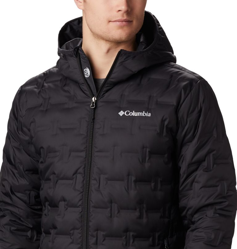 Men's Delta Ridge™ Down Hooded Jacket Men's Delta Ridge™ Down Hooded Jacket, a3