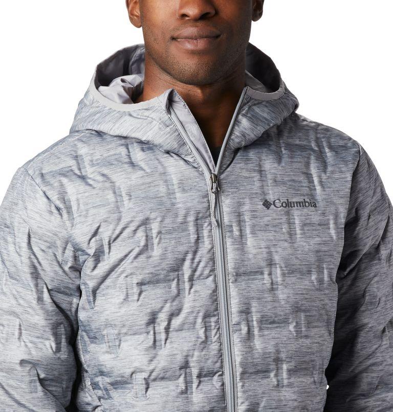 Delta Ridge™ Down Hooded Jacke   039   XL Men's Delta Ridge™ Down Hooded Jacket, Columbia Grey Heather, a1
