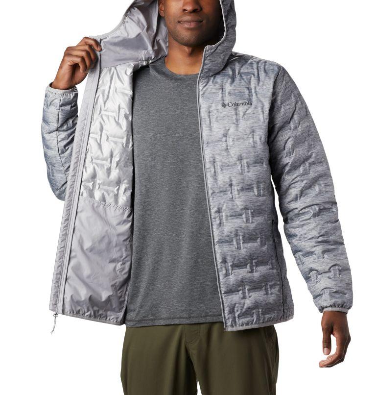 Delta Ridge™ Down Hooded Jacke   039   XL Men's Delta Ridge™ Down Hooded Jacket, Columbia Grey Heather, a3