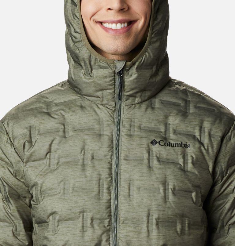 Delta Ridge™ Down Hooded Jacket | 397 | L Doudoune À Capuche Delta Ridge Homme, Stone Green Heather Print, a2
