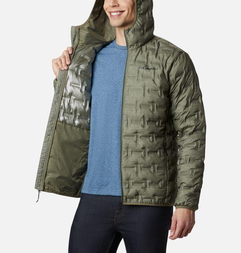 Delta Ridge™ Down Hooded Jacket | 397 | L Doudoune À Capuche Delta Ridge Homme, Stone Green Heather Print, a3