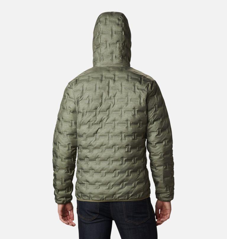 Delta Ridge™ Down Hooded Jacket | 397 | L Doudoune À Capuche Delta Ridge Homme, Stone Green Heather Print, back