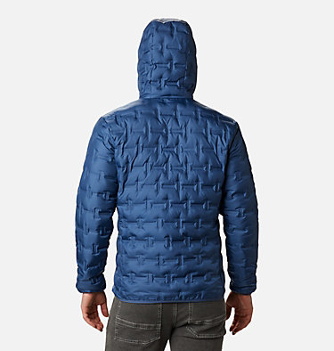 Men's Delta Ridge Down Hooded Jacket Delta Ridge™ Down Hooded Jacke | 010 | L, Night Tide, back