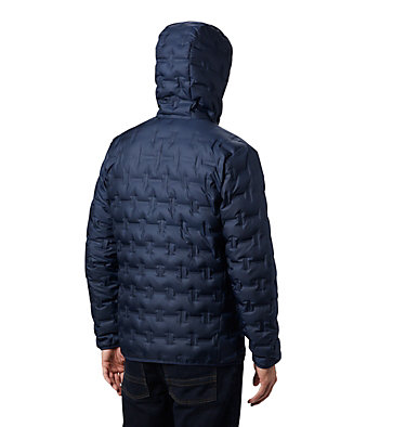 Men's Delta Ridge™ Down Hooded Jacket Delta Ridge™ Down Hooded Jacke | 010 | L, Collegiate Navy, back