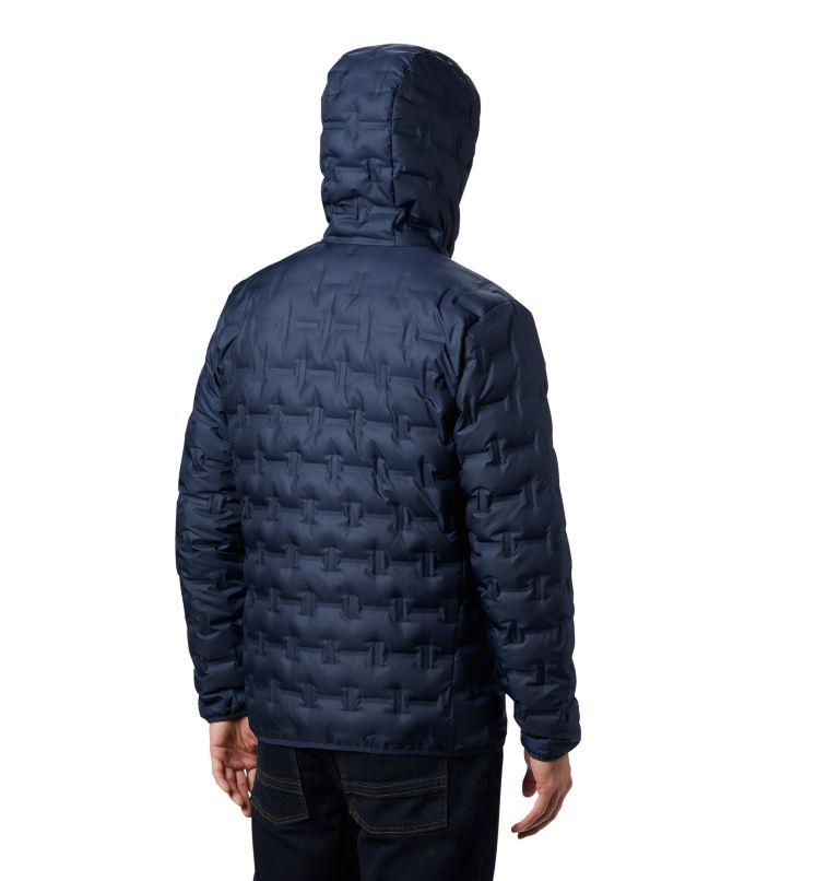 Delta Ridge™ Down Hooded Jacke | 464 | M Men's Delta Ridge™ Down Hooded Jacket, Collegiate Navy, back