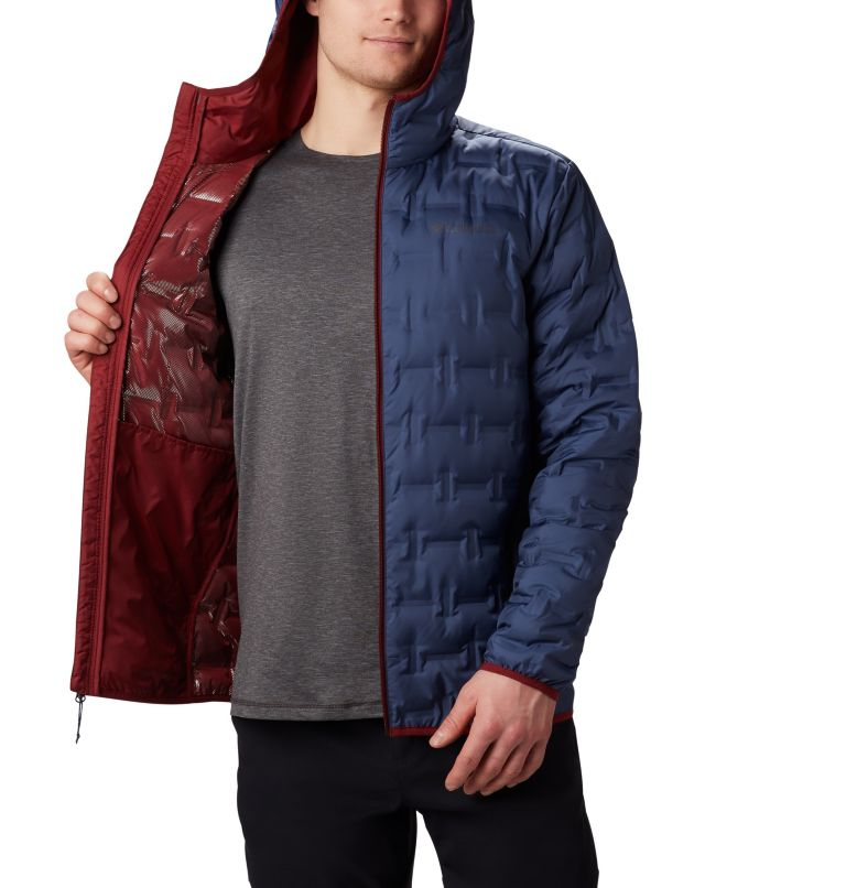 Men's Delta Ridge Down Hooded Jacket Men's Delta Ridge Down Hooded Jacket, a3