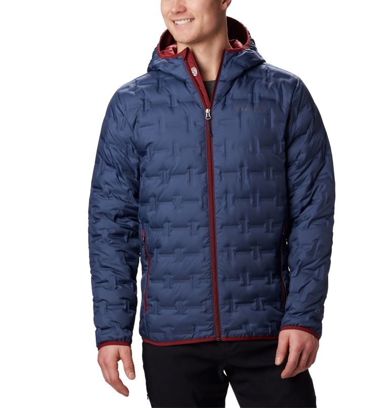 Men's Delta Ridge Down Hooded Jacket Men's Delta Ridge Down Hooded Jacket, front