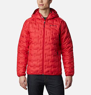 Manteau bouffant à capuchon Delta Ridge pour homme Delta Ridge™ Down Hooded Jacket | 452 | S, Mountain Red, front