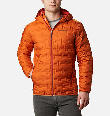 Men's Delta Ridge™ Down Hooded Jacket Delta Ridge™ Down Hooded Jacke | 010 | L, Harvester, front