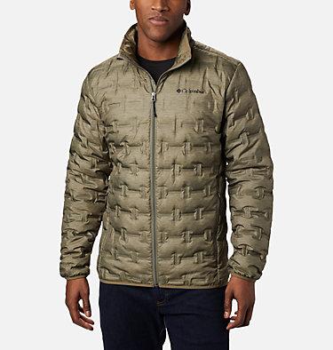 Manteau en duvet Delta Ridge™ pour homme Delta Ridge™ Down Jacket | 397 | S, Stone Green Heather Print, front