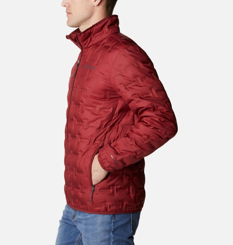 Delta Ridge™ Down Jacket | 664 | M Men's Delta Ridge™ Down Jacket, Red Jasper, a1