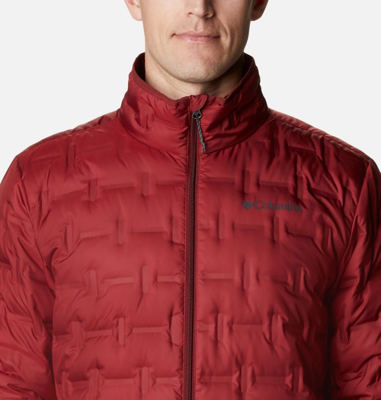 Delta Ridge™ Down Jacket | 664 | M Men's Delta Ridge™ Down Jacket, Red Jasper, a2