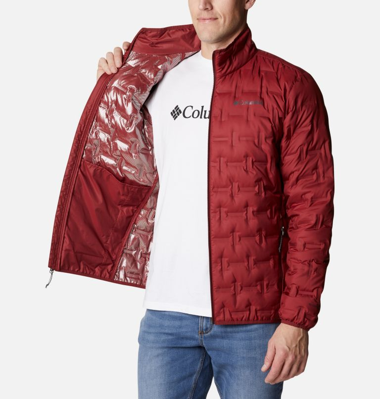 Delta Ridge™ Down Jacket | 664 | M Men's Delta Ridge™ Down Jacket, Red Jasper, a3