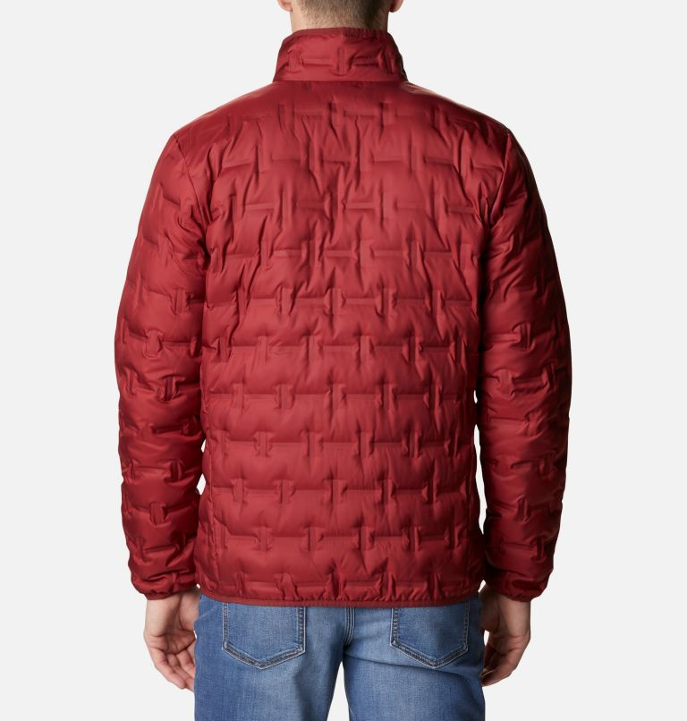 Delta Ridge™ Down Jacket | 664 | M Men's Delta Ridge™ Down Jacket, Red Jasper, back