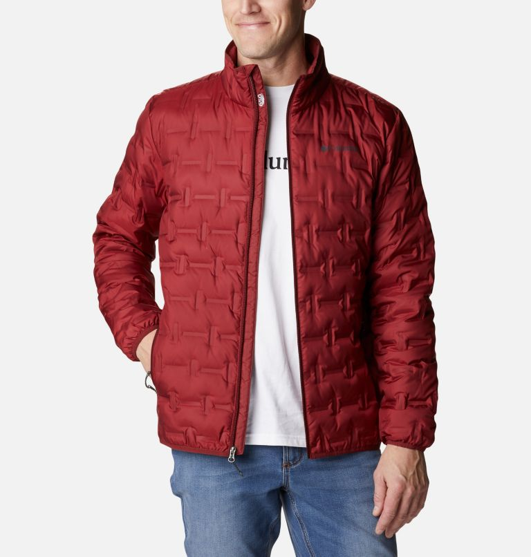 Delta Ridge™ Down Jacket | 664 | M Men's Delta Ridge™ Down Jacket, Red Jasper, front