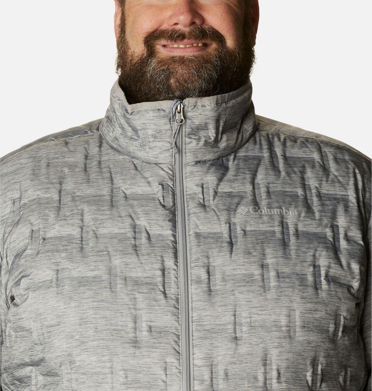 Delta Ridge™ Down Jacket | 039 | 2X Men's Delta Ridge™ Down Jacket - Big, Columbia Grey Heather, a2
