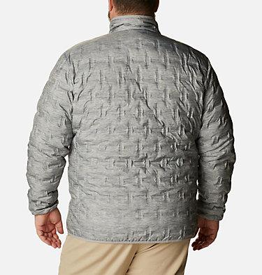 Manteau en duvet Delta Ridge™ pour homme Delta Ridge™ Down Jacket | 010 | 1X, Columbia Grey Heather, back
