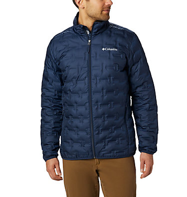 Manteau en duvet Delta Ridge™ pour homme Delta Ridge™ Down Jacket | 010 | 1X, Collegiate Navy, front