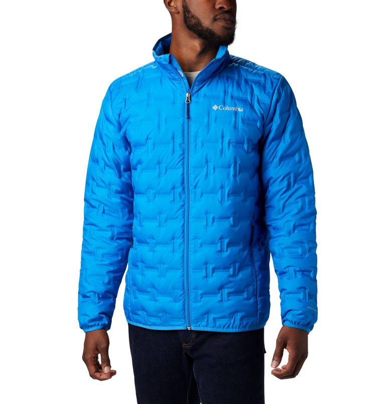 Delta Ridge™ Down Jacket | 463 | LT Men's Delta Ridge™ Down Jacket - Tall, Azure Blue, front