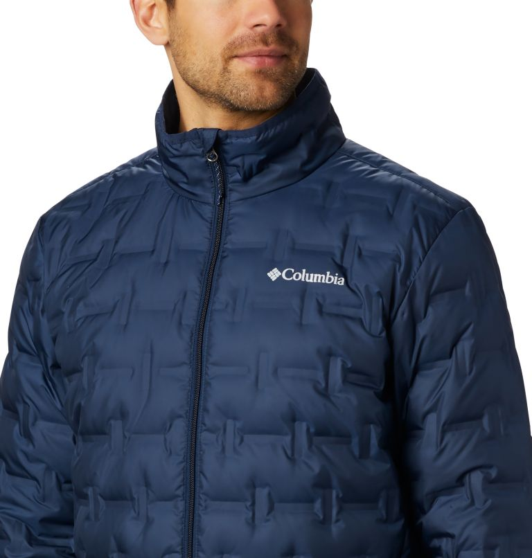 Delta Ridge™ Down Jacket | 464 | 2XT Men's Delta Ridge™ Down Jacket - Tall, Collegiate Navy, a2