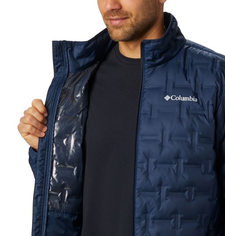 Delta Ridge™ Down Jacket | 464 | 2XT Men's Delta Ridge™ Down Jacket - Tall, Collegiate Navy, a3