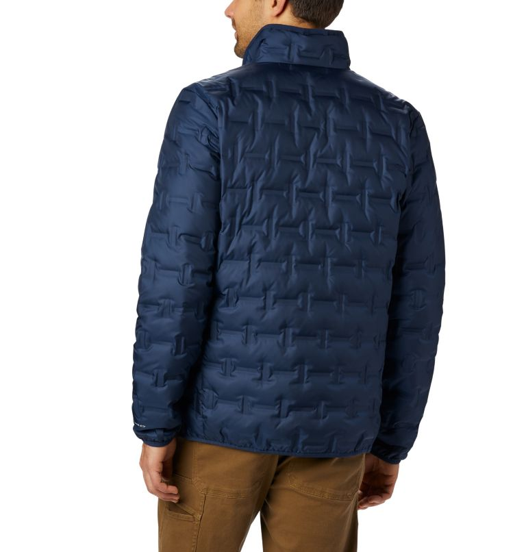 Delta Ridge™ Down Jacket | 464 | 2XT Men's Delta Ridge™ Down Jacket - Tall, Collegiate Navy, back
