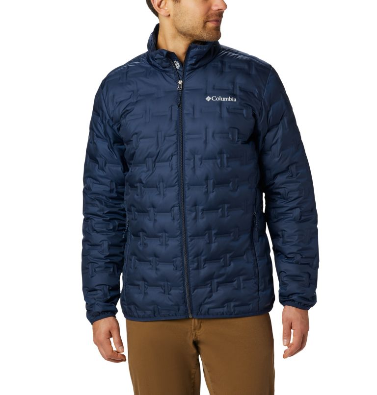 Delta Ridge™ Down Jacket | 464 | 4XT Men's Delta Ridge™ Down Jacket - Tall, Collegiate Navy, front